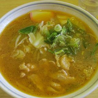 知床鶏辛味噌ラーメン(流氷 )