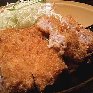 浜勝特撰ロースかつ定食(浜勝 福岡渡辺通り店)