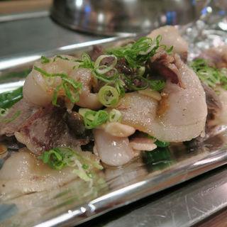 天然しし肉ガーリック焼(浜小町)