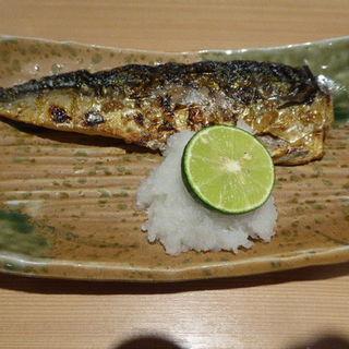 サバの塩焼き(浪花ろばた八角 新宿店)