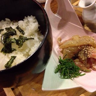 鯛のヅケ茶漬け(海だより )