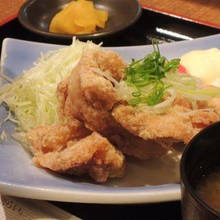 塩ザンギ定食(海へ アスティ店 (【旧店名】ととと))