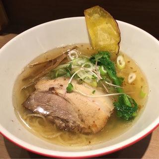 鶏塩ラーメン(海老鶏麺蔵 )