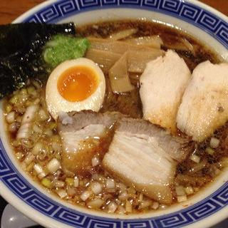 純清黒醤油らーめん(清麺屋)