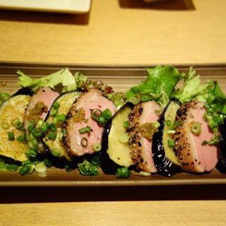 鴨となす焼き(湊一や 新橋レンガ通り店 (【旧店名】湊や))