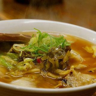 高菜ラーメン(満天 飾磨店 (マンテン))