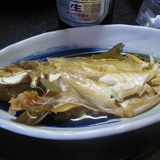 ウマヅラの煮つけ(漁師の宿 なかい )