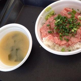 ネギトロ丼(漁業直営 どんぶりハウス)