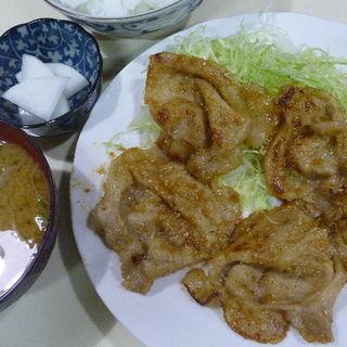 生姜焼定食(瀬戸)