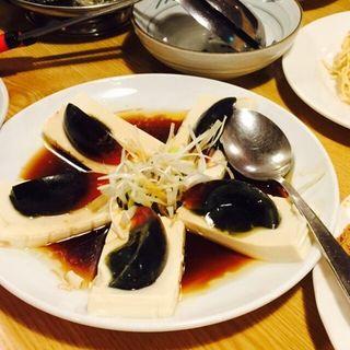 ピータン豆腐(火鍋屋 (ヒナベヤ))