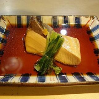 ぶりの煮付け(炙 (Aburi))