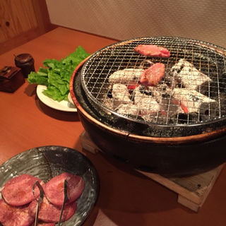 上タン(炙り焼肉 わっしょい)