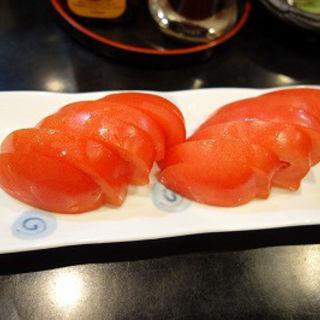 冷やしトマト(炙 (Aburi))