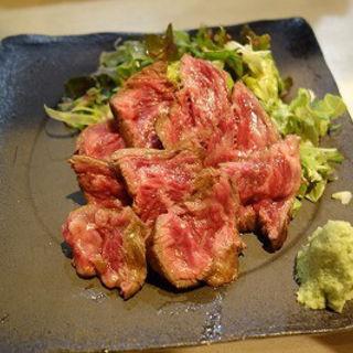 和牛カイノミのタタキ(炙)