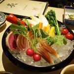 旬の野菜のバーニャカウダ