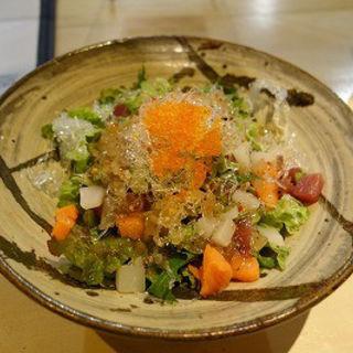 海鮮サラダ(ハーフ)(炙)