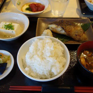 銀だら西京焼き定食(炙 (Aburi))