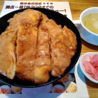 チキンカツ丼(炭火やきとりGEN)