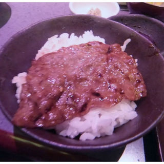 焼すきご飯(炭火焼肉銀のて)