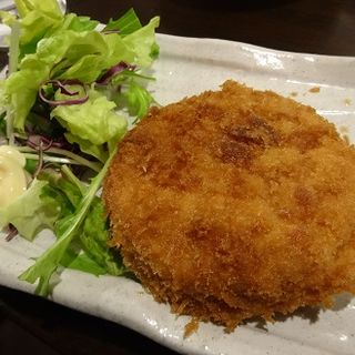 ハムカツ(炭火焼鶏屋 たまい 小杉店 )
