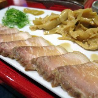 炙り焼豚(炭焼塩ホルモン『あ』西明石酒場)