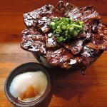 大豚丼+温玉
