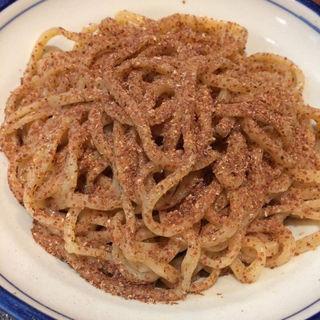 つけ麺大盛り(烈志笑魚油 麺香房 三く)