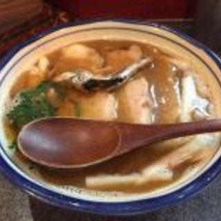 肉かけ 並(烈志笑魚油 麺香房 三く)