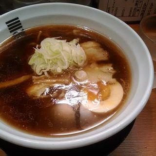 4種の魚介醤油ラーメン(烈火 本店)