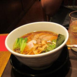 生姜醤油焼豚麺(無尽蔵 こいわ家)