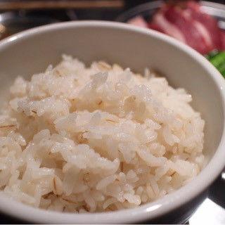 麦ご飯(焼ジビエ 罠 炭打 鍛冶町)