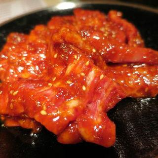上ハラミ定食(大盛)(焼肉 やまなか (【旧店名:焼肉 泰平】))