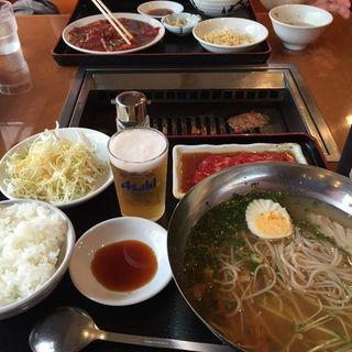 焼肉冷麺定食 (焼肉 横濱慶州苑 菊名店 (ヨコハマケイシュエン 横浜))