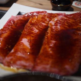 サーロインすき焼き(焼肉 肉縁)