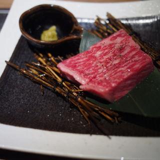 サーロインステーキ(焼肉 肉縁)