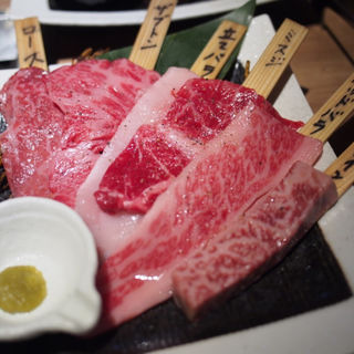 特選黒毛和牛6種盛り(焼肉 肉縁)