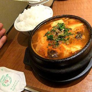豆腐チゲ(焼肉 黄華園)