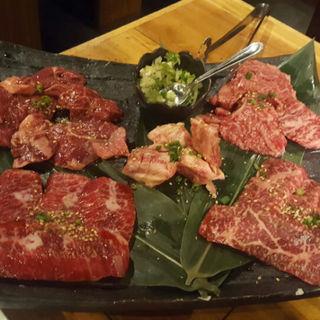 OGAWA厳選5点盛り(焼肉OGAWA 大森店 (ヤキニクオガワ))