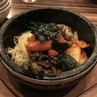 明太子ビビンバ(焼肉おしわら)