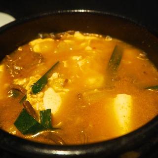 豆腐チゲ(焼肉チャンピオン・ペントハウス )