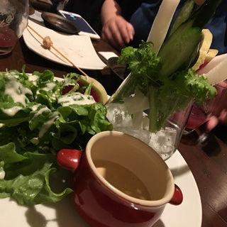 バーニャカウダ(焼鳥Kitchen 晴れ晴れ)