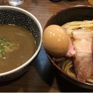 味玉特濃煮干しつけ麺(煮干しつけ麺 宮元 (みやもと))