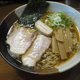 醤油らぁめん(煮干しらぁめん なかじま )