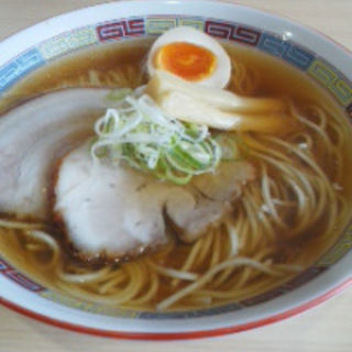 煮干らーめん薄口醤油(煮干鰮らーめん 圓 名古屋大須店)