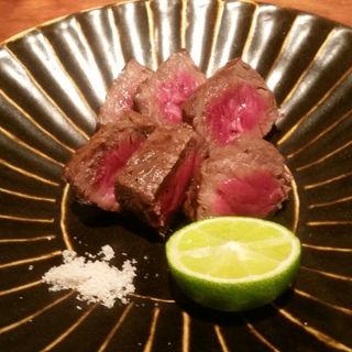徳島産のすだち牛の炭焼き(燕 )