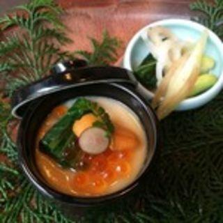 ウニといくらの茶わん蒸し(燦 -SAN-神田本店 (SAN))