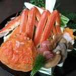 贅沢3種!豪華蟹すき鍋