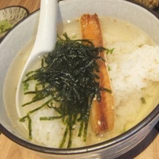 燻製鮭ハラスのお茶漬け(燻製工房 )
