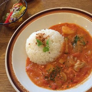 チキンカチャライス(片町カフェ (カタマチカフェ))