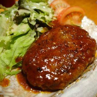 牛タンハンバーグ(牛たん炭火焼 吉次 鰻谷店 (ギュウタンスミビヤキヨシジ))